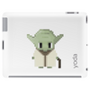 Star Wars Yoda pixel art by Birta Tablet