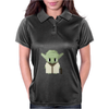 Star Wars Yoda pixel art by Birta Womens Polo