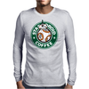 Stardroid Coffee Mens Long Sleeve T-Shirt