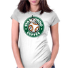 Stardroid Coffee Womens Fitted T-Shirt