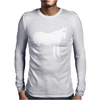 STARING HORSE Mens Long Sleeve T-Shirt
