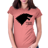 Stark Winter Is Coming Womens Fitted T-Shirt