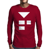 Starman SNES Earthbound Tee Retro Cult Mother T Logo Emblem Mens Long Sleeve T-Shirt