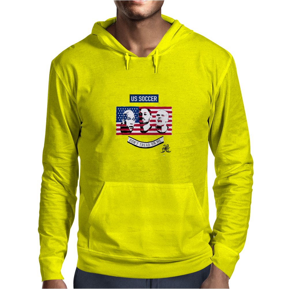 Stars of USA for World Cup 2014 Mens Hoodie