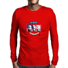 Stars of USA for World Cup 2014 Mens Long Sleeve T-Shirt