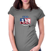 Stars of USA for World Cup 2014 Womens Fitted T-Shirt