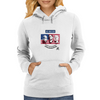 Stars of USA for World Cup 2014 Womens Hoodie