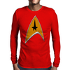 StarTrek Command Signia Chest Mens Long Sleeve T-Shirt