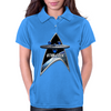 StarTrek Command Silver Signia Enterprise 1701 Womens Polo