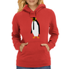 Stay Classy Penguin Womens Hoodie