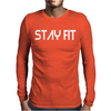 Stay Fit Mens Long Sleeve T-Shirt