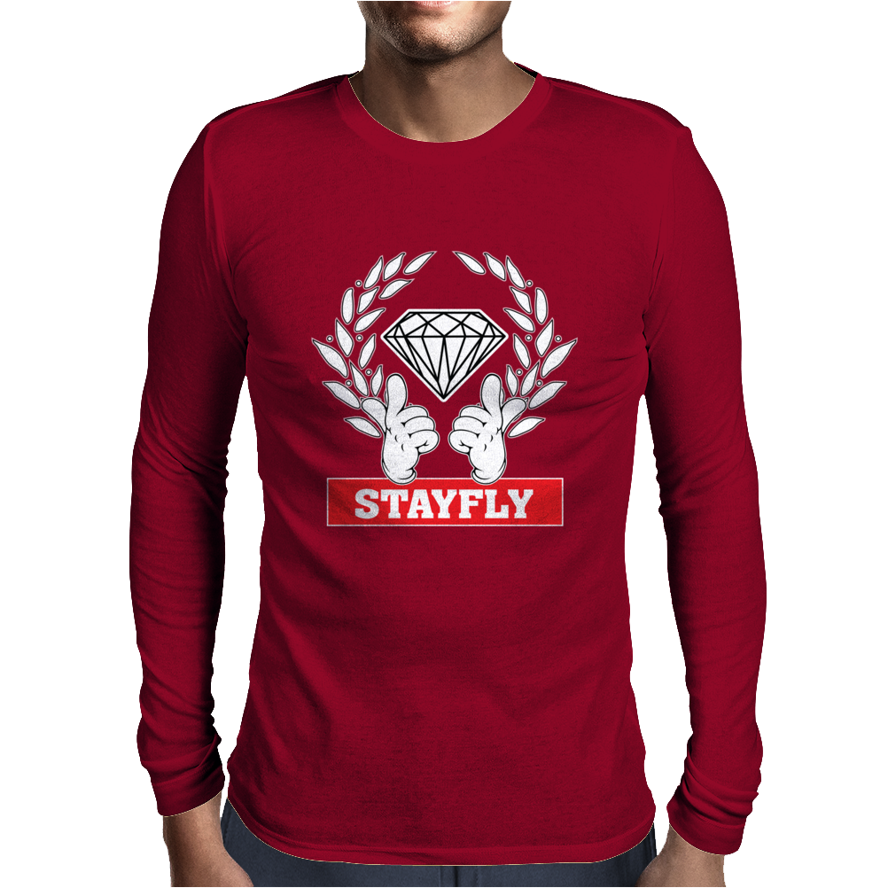 Stay Fly Mens Long Sleeve T-Shirt