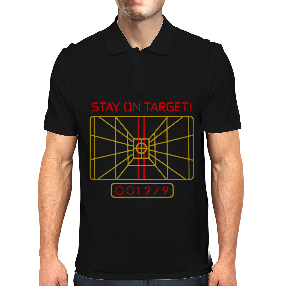 Stay On Target Mens Polo