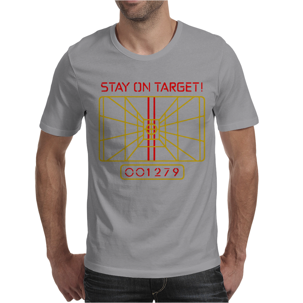Stay On Target Mens T-Shirt