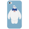 Stay Puft / Baymax parody Phone Case