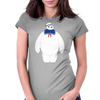 Stay Puft / Baymax parody Womens Fitted T-Shirt