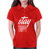Stay Trippy Womens Polo