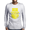 Steampunk Cog Face Mens Long Sleeve T-Shirt
