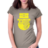 Steampunk Cog Face Womens Fitted T-Shirt