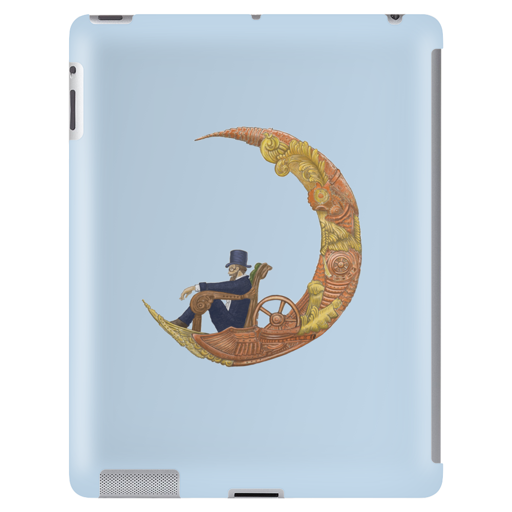 Steampunk Flying Machine  ts Tablet