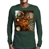 Steampunk in noble design  Mens Long Sleeve T-Shirt