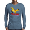 Stearman Fly In Mens Long Sleeve T-Shirt