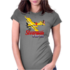 Stearman Fly In Womens Fitted T-Shirt