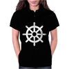 Steering Wheel Sail Boat Funny Womens Polo