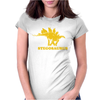 Stegosaurus Dinosaur Womens Fitted T-Shirt