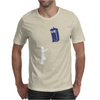 Stencil Doctor Who TARDIS Mens T-Shirt