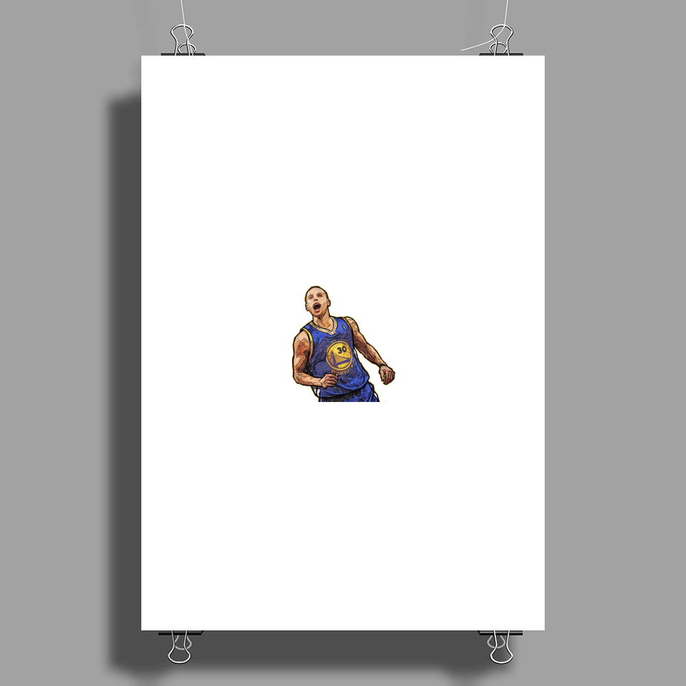 stephan curry Poster Print (Portrait)