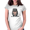 Steve Blum animated/All hail Steve Blum Womens Fitted T-Shirt