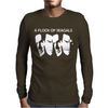 Steven Seagal Flock Of Seagals Seagulls Mens Long Sleeve T-Shirt
