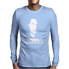 Steven Seagal Out For Justice Retro Mens Long Sleeve T-Shirt