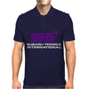 Sti Subaru World Rally Team Sti Tuning Car Mens Polo