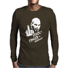 Stick the Finger to Germany Mens Long Sleeve T-Shirt