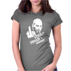 Stick the Finger to Germany Womens Fitted T-Shirt