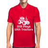 Still Plays With Tractors Mens Polo