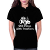 Still Plays With Tractors Womens Polo