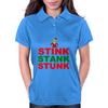 STINK STANK STUNK Womens Polo