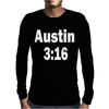 Stone Cold Steve Austin Retro 3 16 Mens Long Sleeve T-Shirt