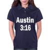 Stone Cold Steve Austin Retro 3 16 Womens Polo