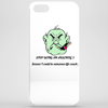 Stop being an arsehole ! Seee I could be someones life coach Phone Case