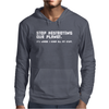 Stop Destroying My Planet Mens Hoodie