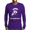 Stop Frigging About Lord Kitchener Recruitment Poster Mens Long Sleeve T-Shirt