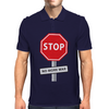STOP No more war Mens Polo