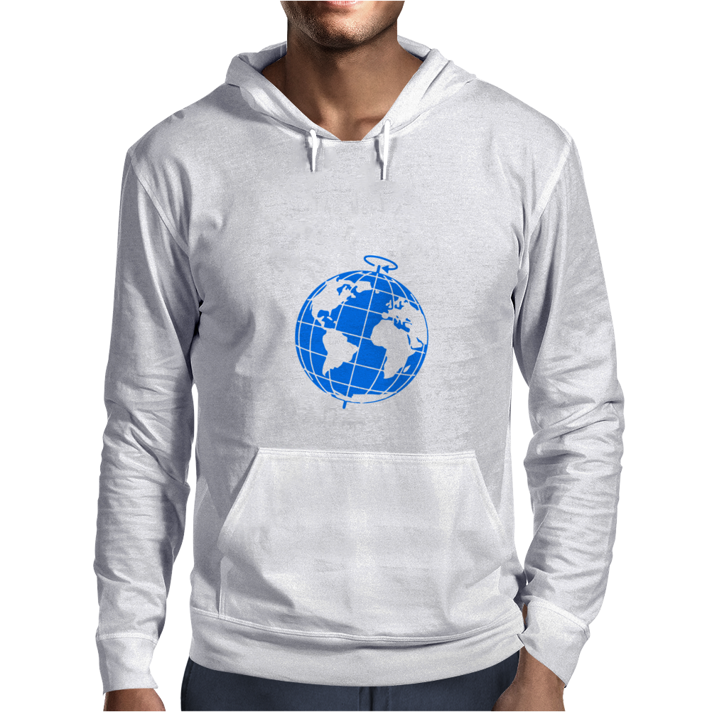 Stop The World From Spinning Scrumpy Cider Drinking Mens Hoodie