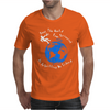 Stop The World From Spinning Scrumpy Cider Drinking Mens T-Shirt