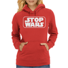 Stop Wars Star Darth Vader Jedi Yoda Stormtrooper Lord of The Rings Womens Hoodie