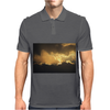 Storm Clouds of Gold Mens Polo